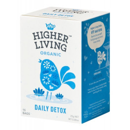 Higher Living Infusión Daily Detox 15 Bolsas