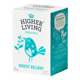 Higher Living Infusión Digestiva 15 Bolsas