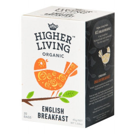 Higher Living Té English Breakfast 20 Bolsas