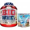 Pack BIG Whey 100% Whey Concentrate 2 Kg + Max Protein Harina de Avena Bulevip 500 gr