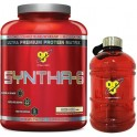 Pack BSN Syntha-6 2,27 Kg + Water Bottle - Bidon de Agua 1,89 L