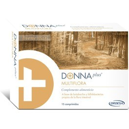Donna Plus Donnaplus + Multiflora 15 Comp