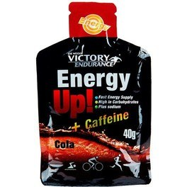 Victory Endurance Energy Up Gel + Cafeina Cola 40 G