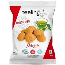 FeelingOK Delizia Start - Galletas 50 gr