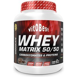 Vitobest Whey Matrix 50/50 Chocolate 4 Lb 2 Kg