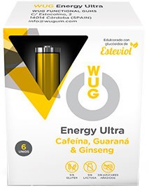 Wug Chicle Energetico 6 uds