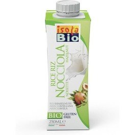 Isolabio Bebida Mini Avellanas Bio 250 Ml X 3