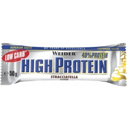 Cad-11/07/20 Weider 40% Low Carb High Protein Bar 1 barrita x 50 gr Chocolate