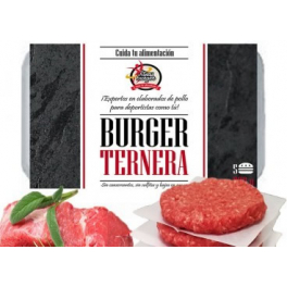 Pack Fitness Burger 5 Bandejas De 5 Hamburguesas Especiales