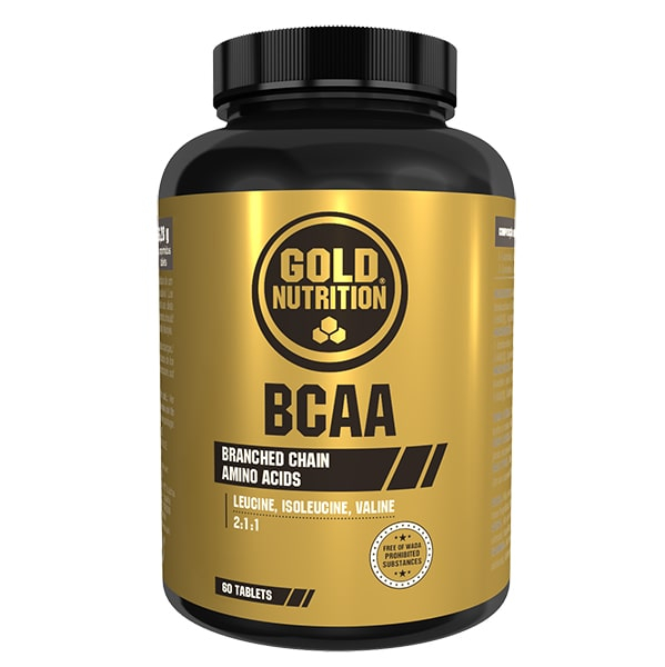Gold Nutrition BCAA's 60 tabs