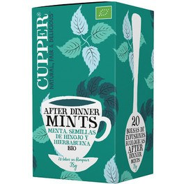 Cupper Infusion After Dinner Mint Bio 20 Bolsas