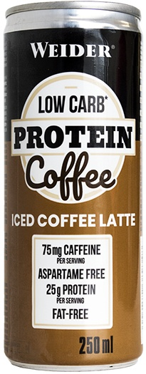 Weider Low Carb Protein Coffe 1 lata x 250 ml