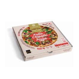 Alasature Pizza Proteica Chipotle De Pollo 350 Gr