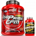 Pack Amix IsoPrime CFM Isolate 2 kg + Lipotropic Fat Burner 30 caps