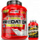 Pack Amix Predator Protein 2 kg + Lipotropic Fat Burner 30 caps