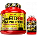 Pack Amix Pro Iso HD CFM Protein 90 1800 gr + Lipotropic Fat Burner 30 caps