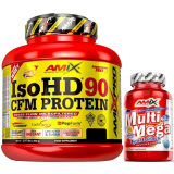 Pack Amix Pro Iso HD CFM Protein 90 1800 gr + Multi Mega Stack 30 tabs