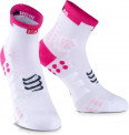 Compressport Calcetines ProRacing V3.0 Run Hi Ironman Rosa