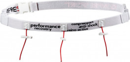 Compressport Cinturón de Carrera Race Belt Blanco