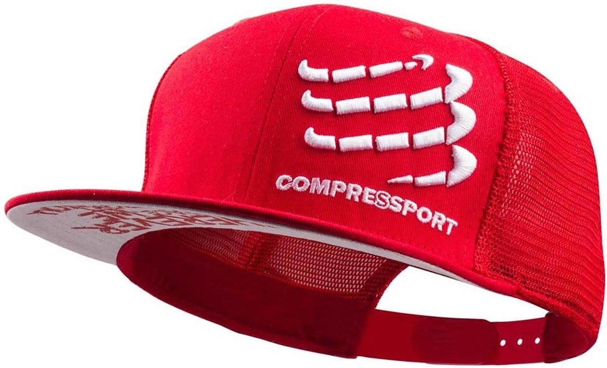Compressport Gorra Trucker Cap Roja