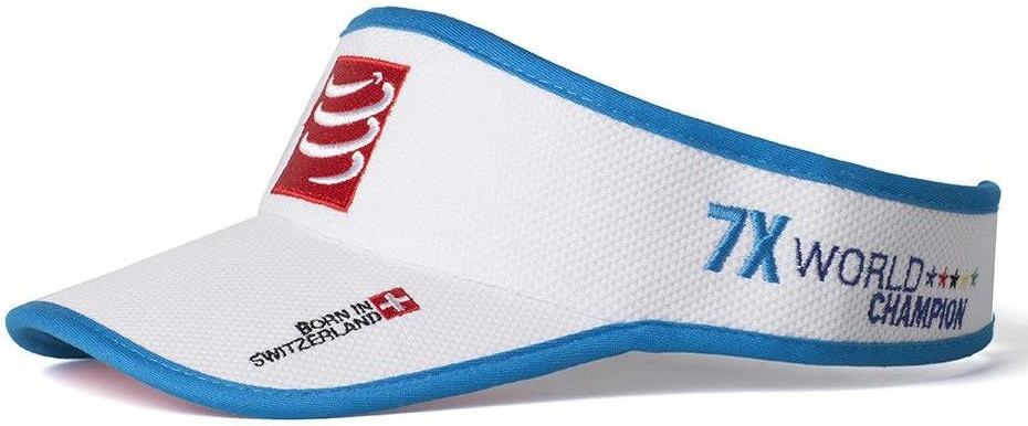 Compressport Visera Blanco