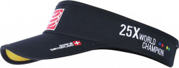 Compressport Visera Negro