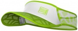 Compressport Visera Spiderweb Ultralight Visor FW Blanco Verde