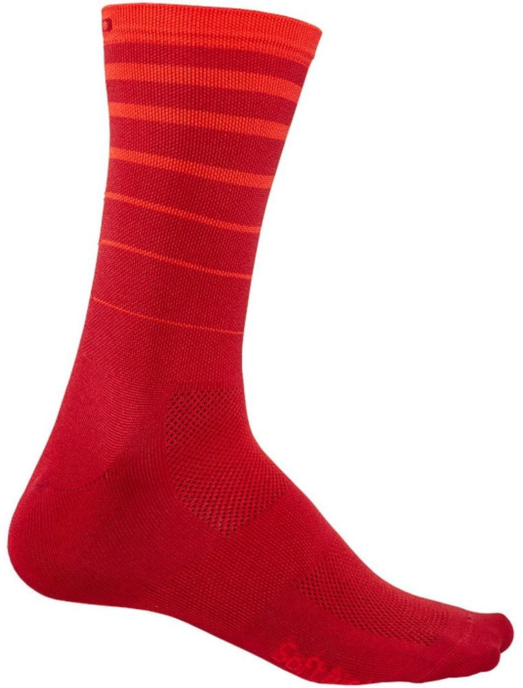 Giro Calcetines Comp Racer High Rise 2018 Rojo