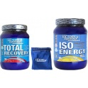Pack Victory Endurance Total Recovery 750 gr + Iso Energy (Isotonico) 900 gr + Muñequera Exclusiva