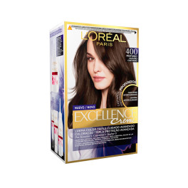 L'oreal Excellence Brunette Tinte 400-true Brown Mujer