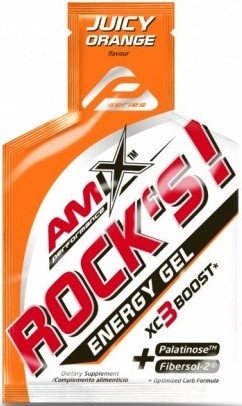 Amix Performance Energy Gel Rock´s! Sin Cafeína - 1 gel x 32 gr