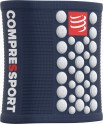 Compressport Muñequeras Sweatbands 3D Dots Azul - Blanco