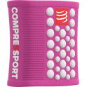 Compressport Muñequeras Sweatbands 3D Dots Rosa - Blanco