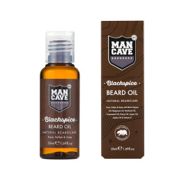 Mancave Beard Care Blackspice Beard Oil 50 Ml Hombre
