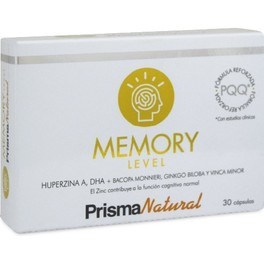 Prisma Natural Memory Level Plus 30 caps