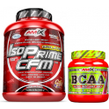 Pack Amix IsoPrime CFM Isolate 2 kg + BCAA Micro Instant Juice 300 gr