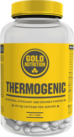 Gold Nutrition Thermogenic - Formula Herbal Estimulante 60 caps