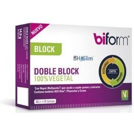 Dietisa Biform Doble Block 100% Vegetal 30 caps