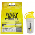 Pack Olimp Whey Protein Complex 100 % 2270 gr + Shaker Mezclador 700 ml