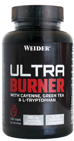 Weider Ultra Burner 120 caps