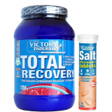 Pack Victory Endurance Total Recovery 1250 gr + Salt Effervescent - Sales Minerales Efervescentes 1 tubo x 15 tabs