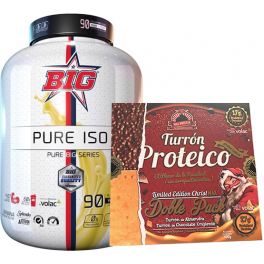 Pack BIG Pure Iso Pure Big Series 1.8 kg + Max Protein Turron Proteico Edicion Limitada Christmax Doble Pack 400 gr