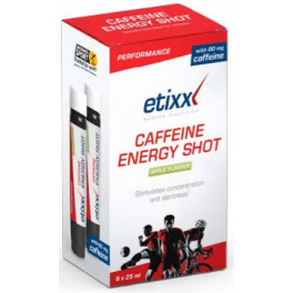 Etixx Energy Shot Cafeina 6 viales x 25 ml