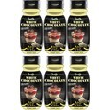 Servivita Salsa Chocolate Blanco sin Calorias 6 botes x 320 ml