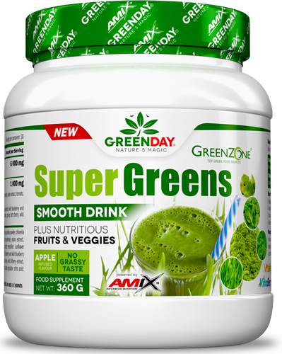 Amix GreenDay Supergreens Drink 360 gr