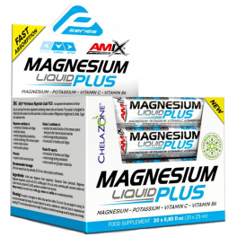 Amix Performance Magnesio Plus Liquid 20 viales  x 25 ml