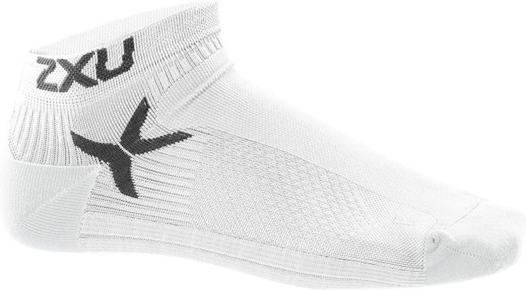 2XU Calcetines Performance Low Rise Blanco