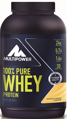 Multipower 100% Pure Whey Protein 900 gr