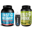 Pack Gold Nutrition Gold Drink 1 kg + Fast Recovery 1 kg + Bidon 600 ml
