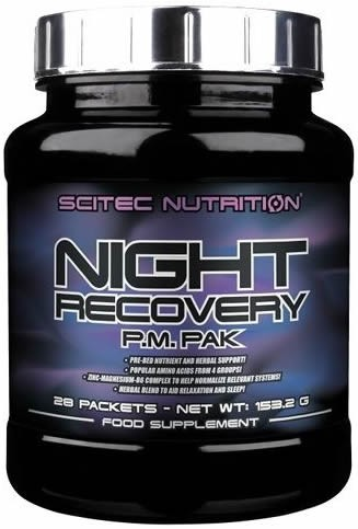 Scitec Nutrition Night Recovery P.M. PAK 28 pack